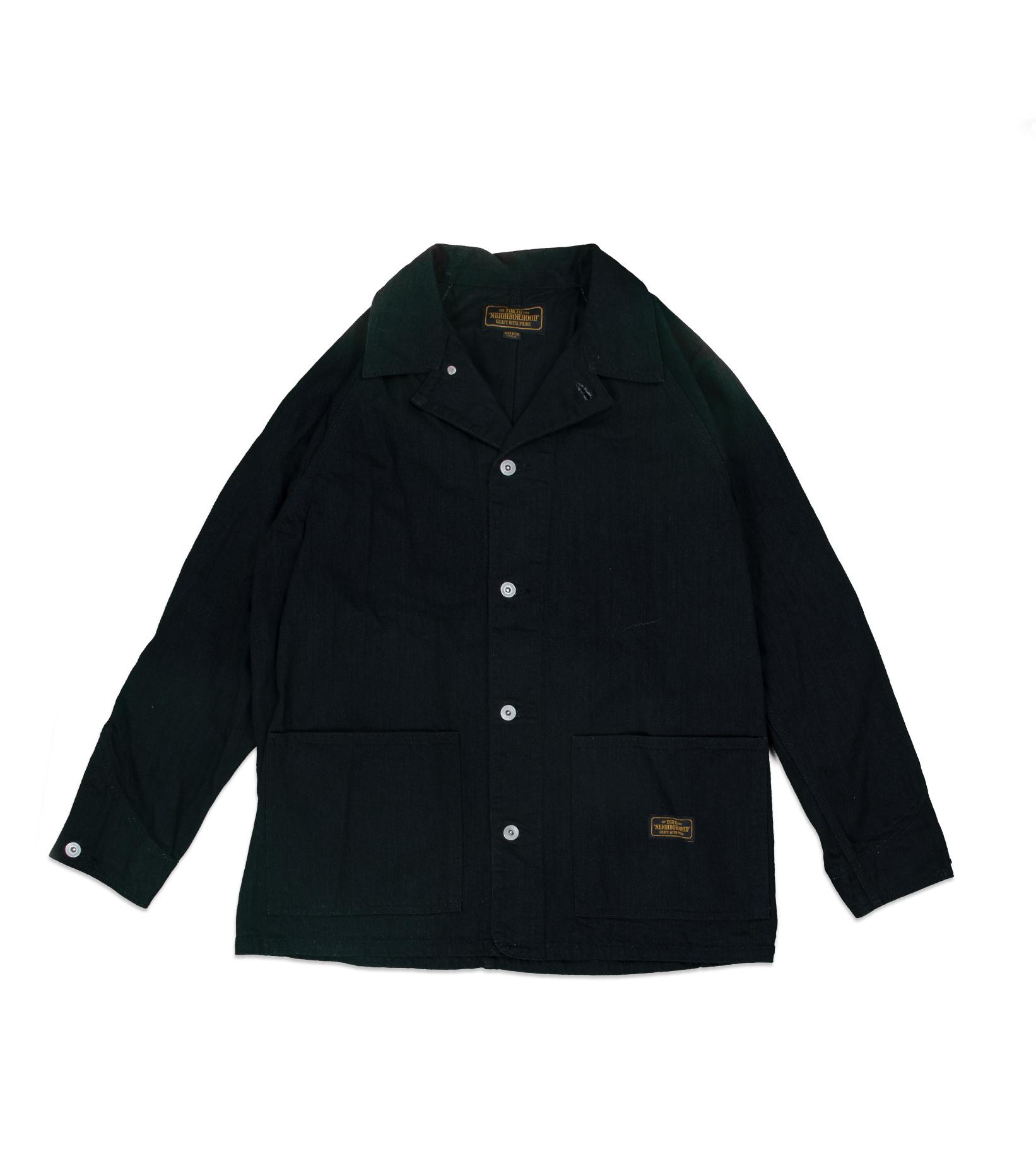 "S.C.C. Denim Jacket ""Black""-1"