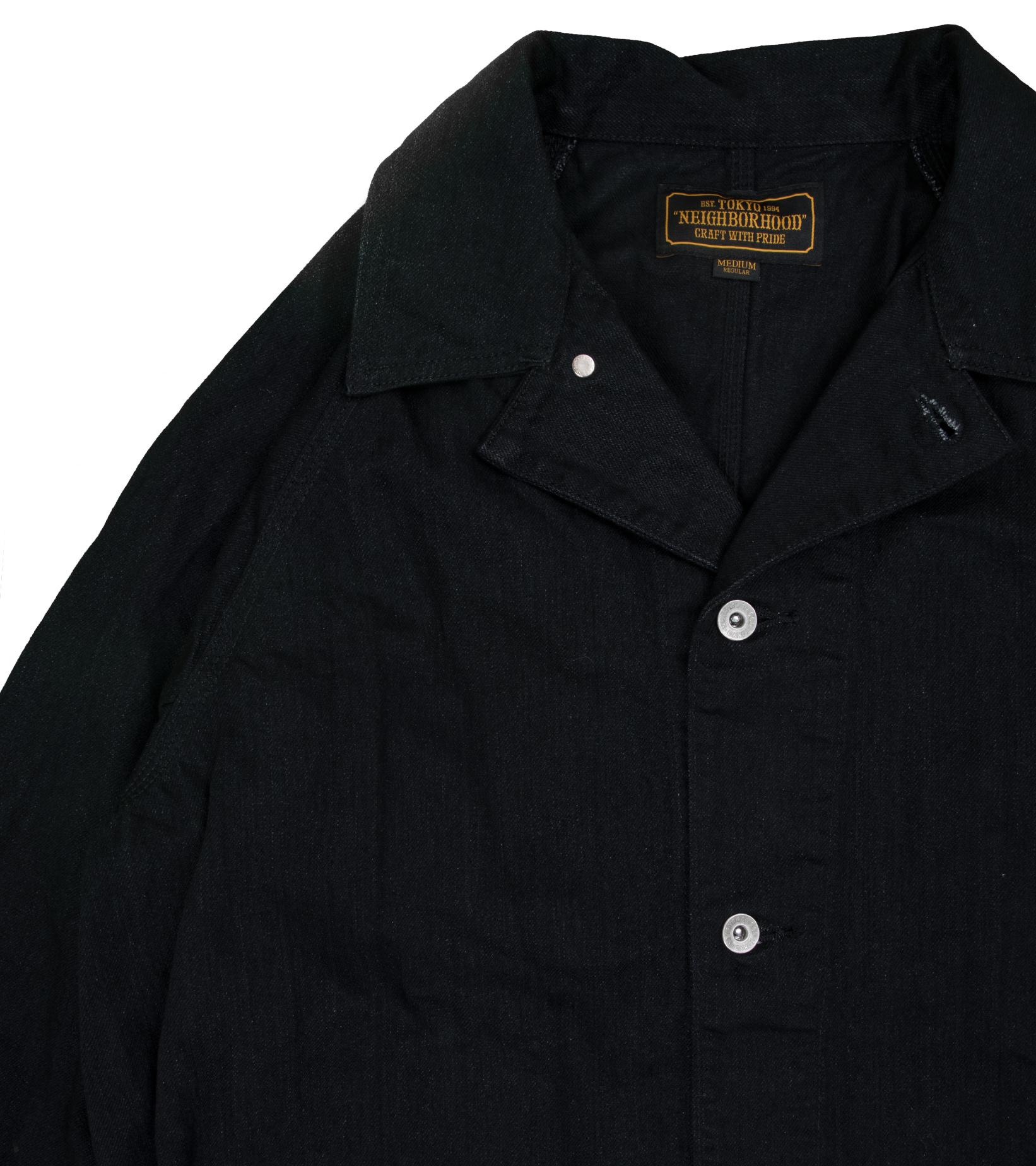 "S.C.C. Denim Jacket ""Black""-3"