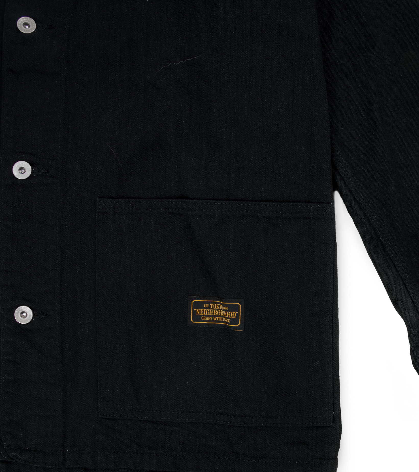"S.C.C. Denim Jacket ""Black""-4"
