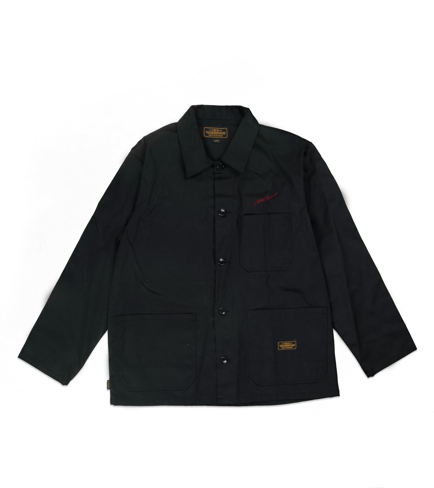 """Coverall EC Jacket """"Black""""-1"""