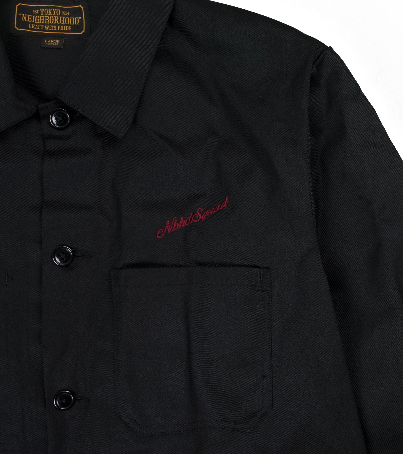 """Coverall EC Jacket """"Black""""-3"""
