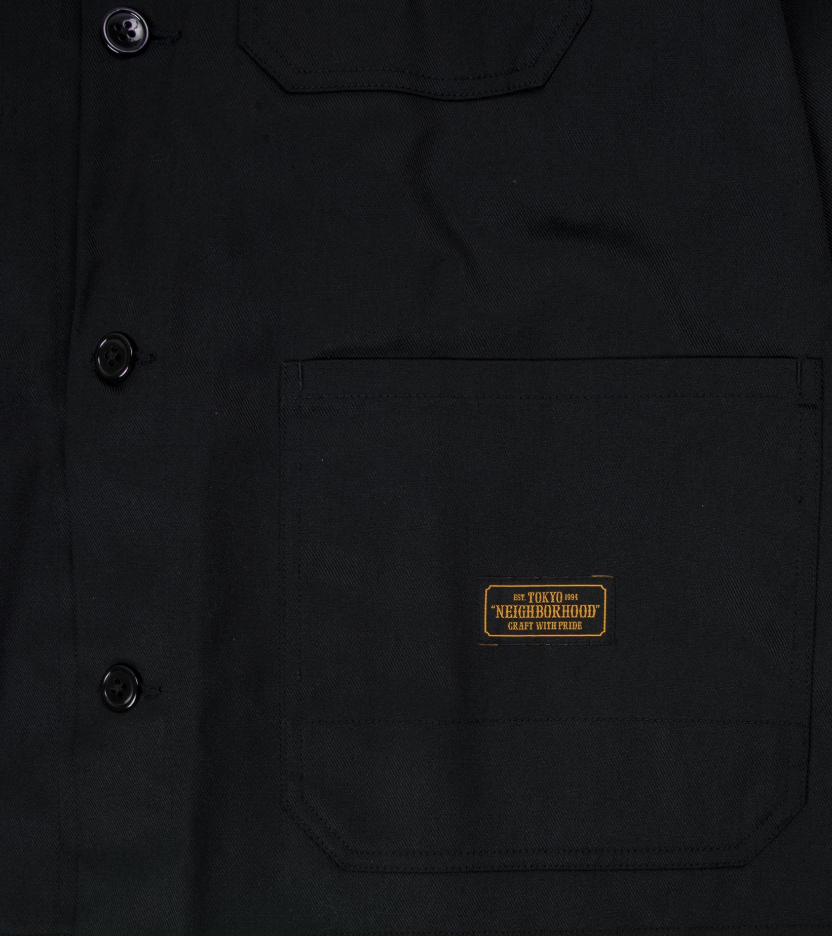 """Coverall EC Jacket """"Black""""-4"""