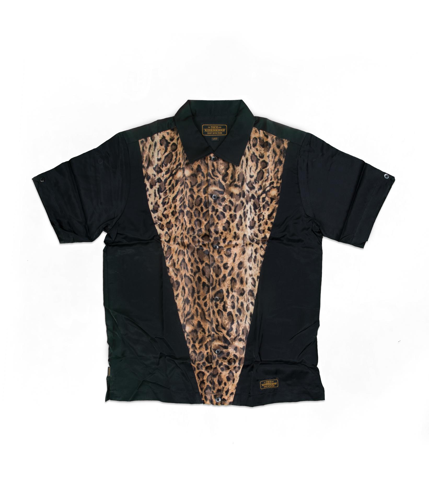 """T.D. SS Shirt  """"Leopard""""-1"""