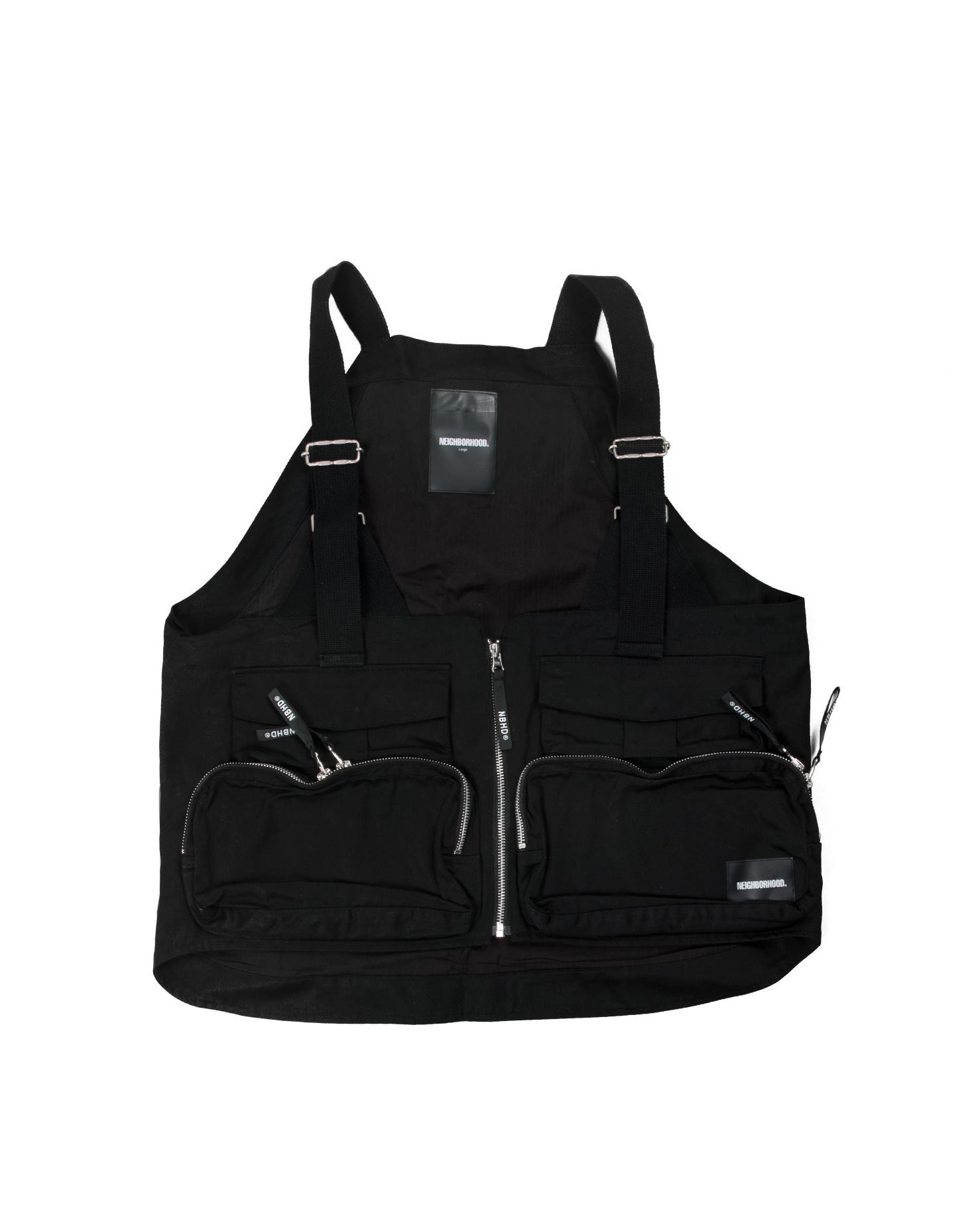 """Military Pack C Vest """"Black""""-1"""