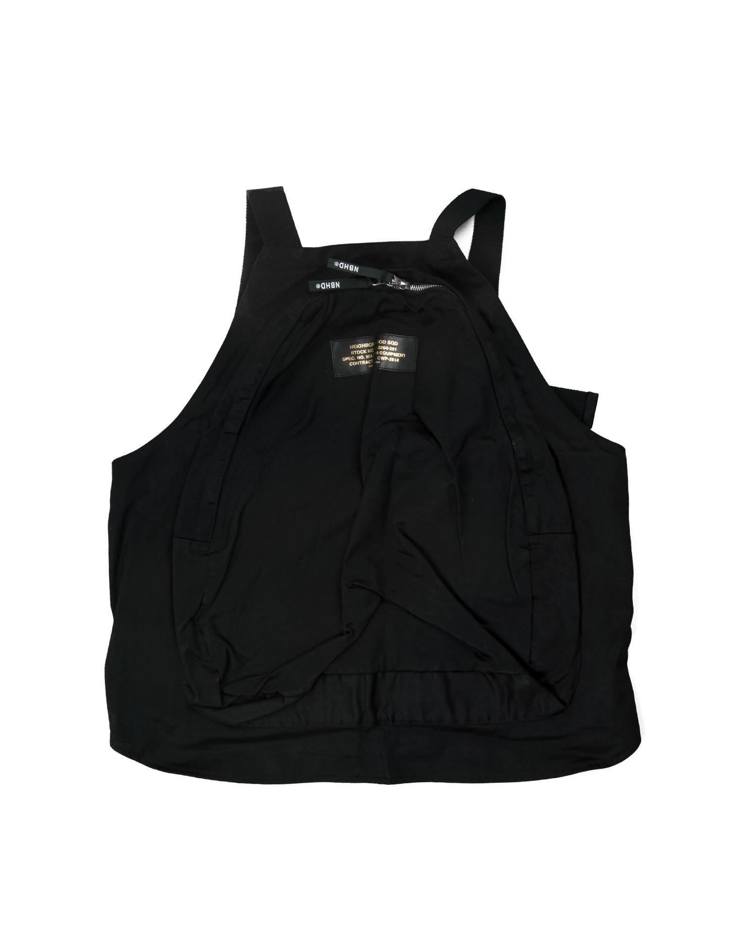 """Military Pack C Vest """"Black""""-2"""