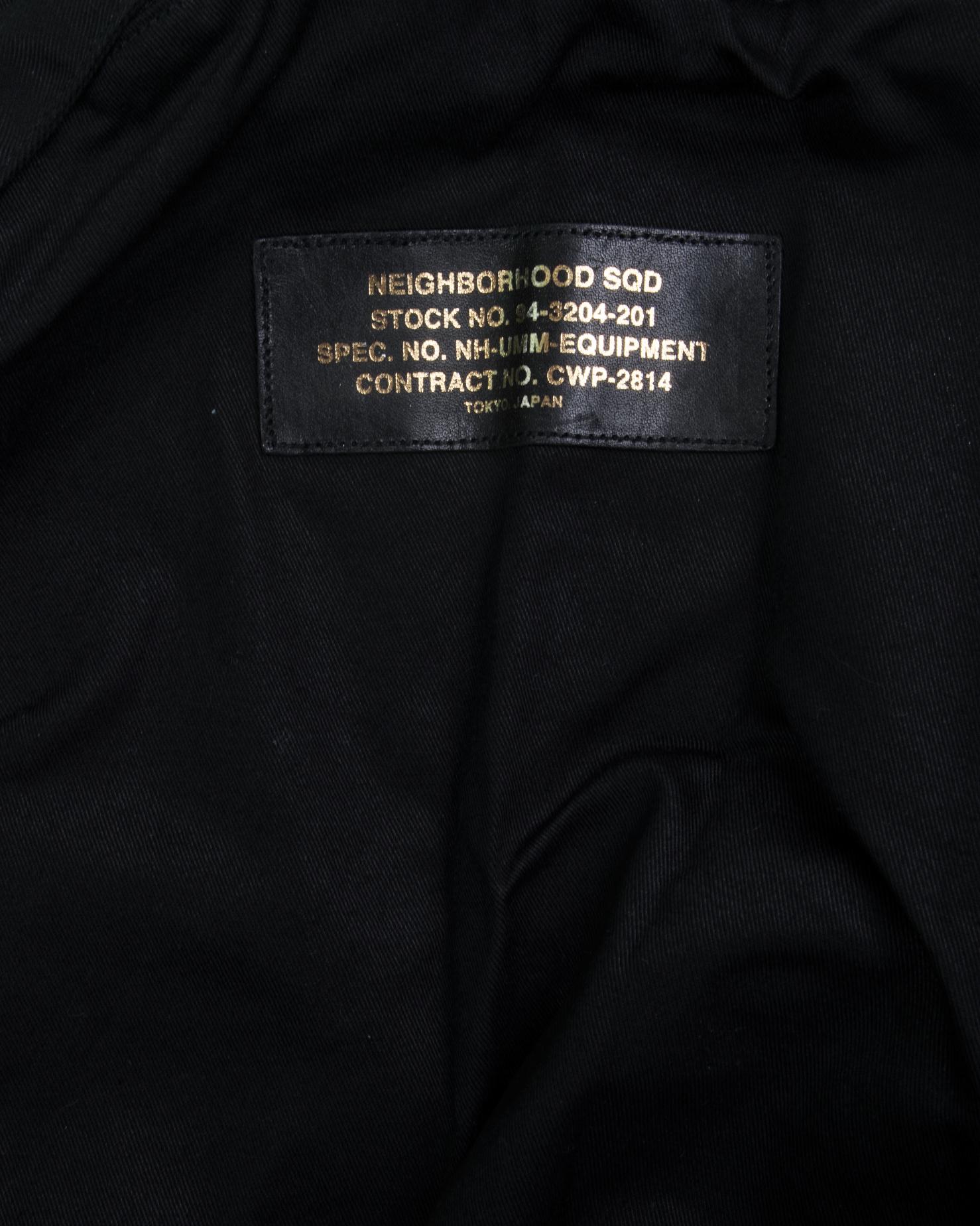 """Military Pack C Vest """"Black""""-3"""