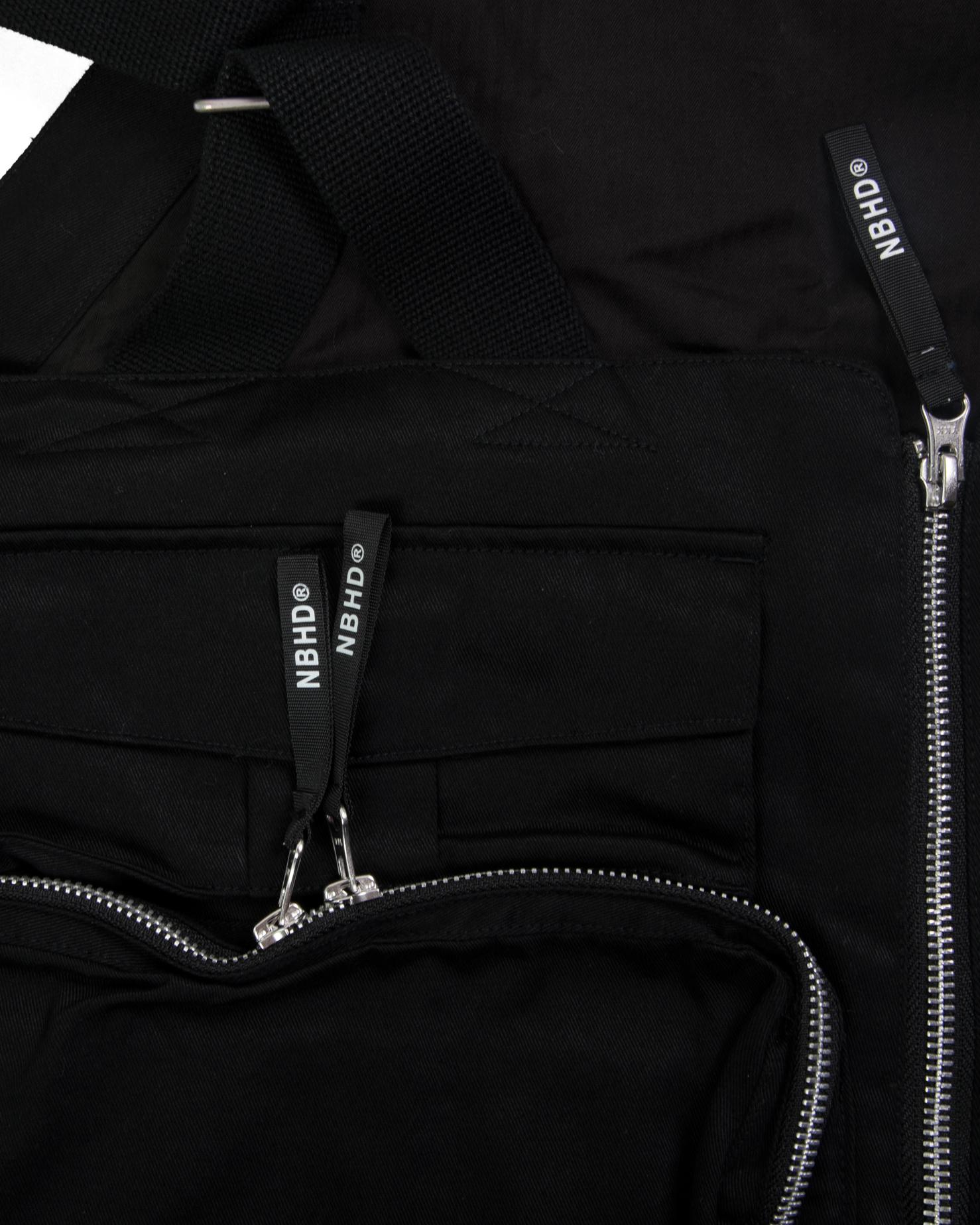 """Military Pack C Vest """"Black""""-4"""