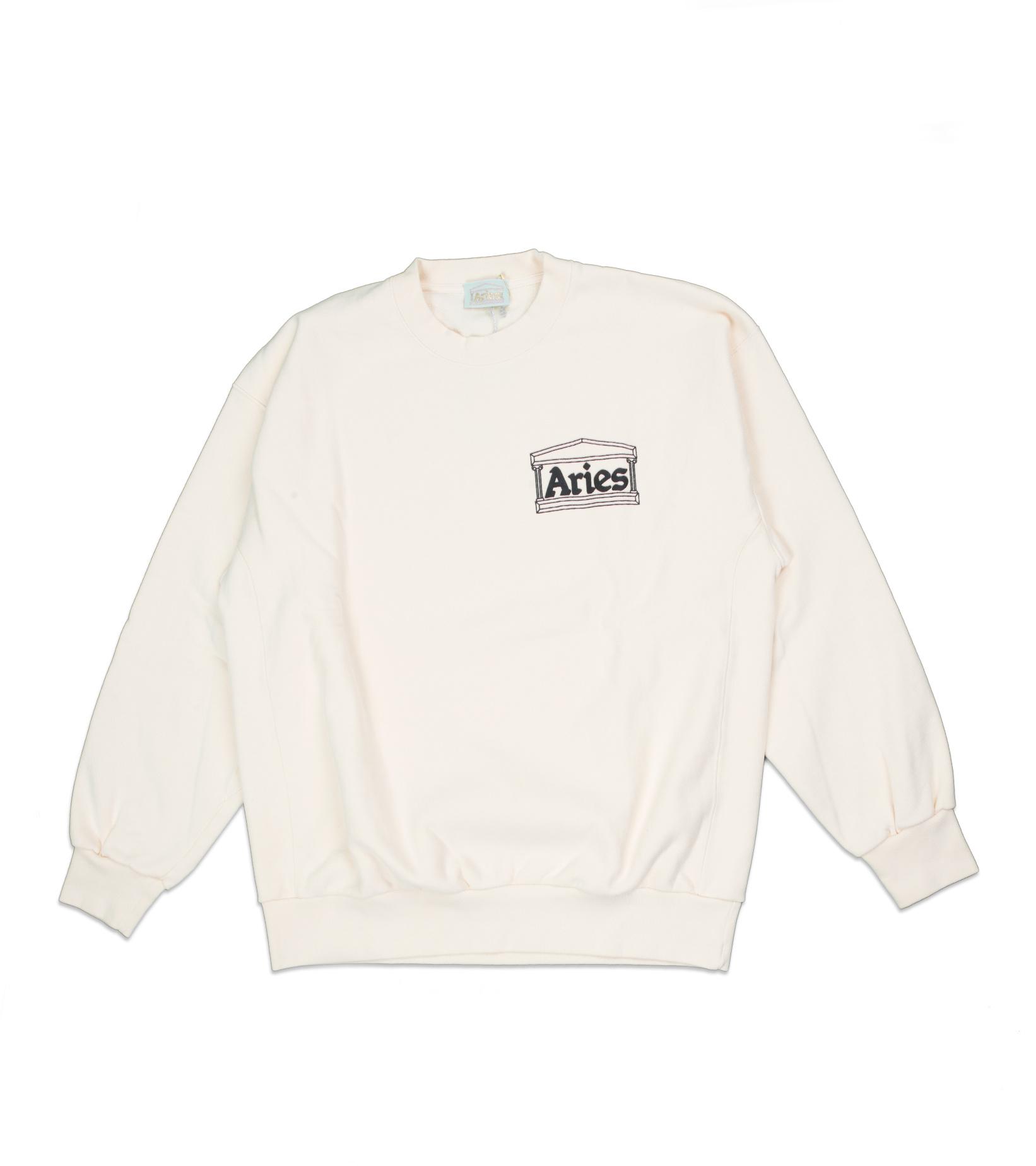 """Premium Temple Sweatshirt """"Alabaster""""-1"""