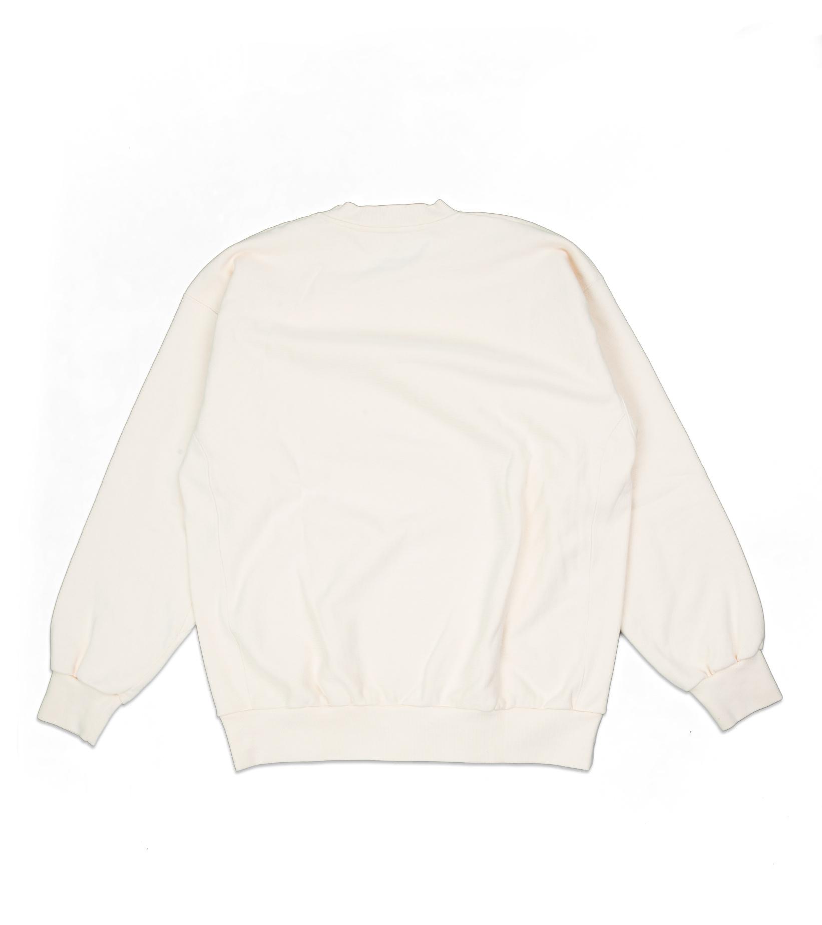 """Premium Temple Sweatshirt """"Alabaster""""-2"""