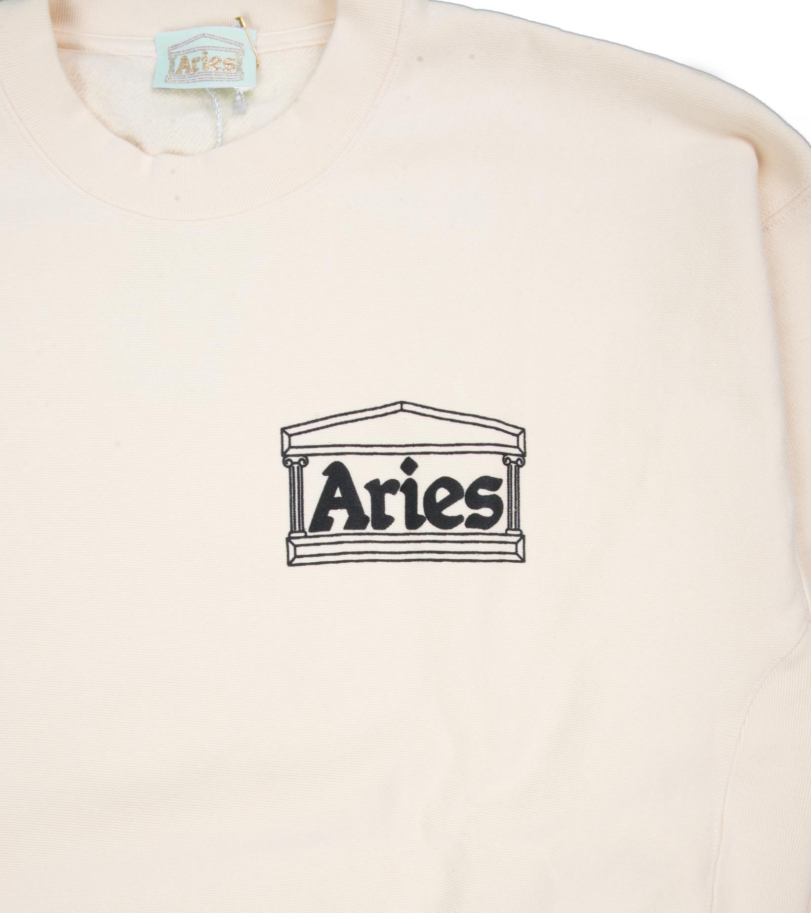 """Premium Temple Sweatshirt """"Alabaster""""-3"""