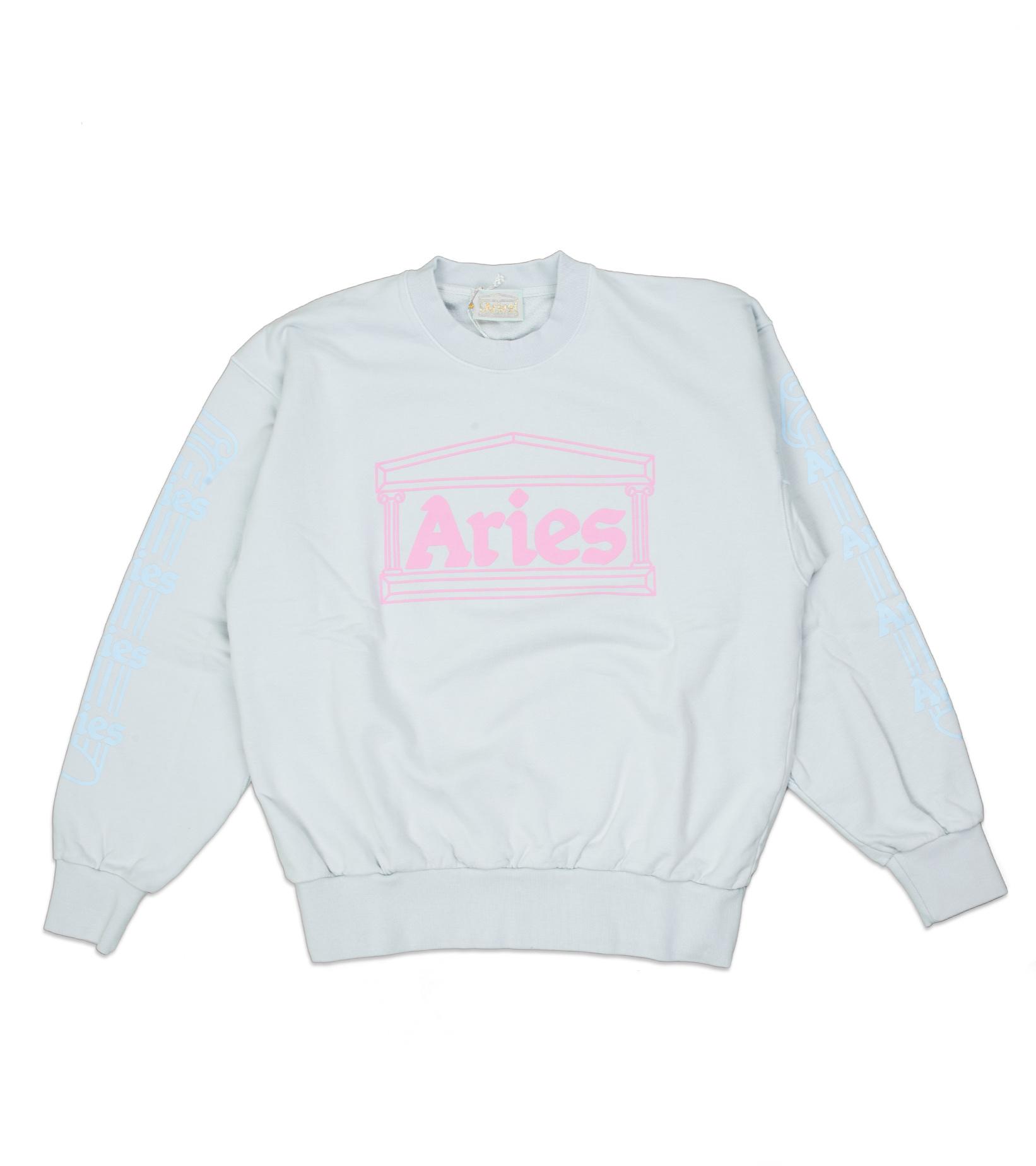 "Column Sweatshirt ""Pale Blue/Pink""-1"