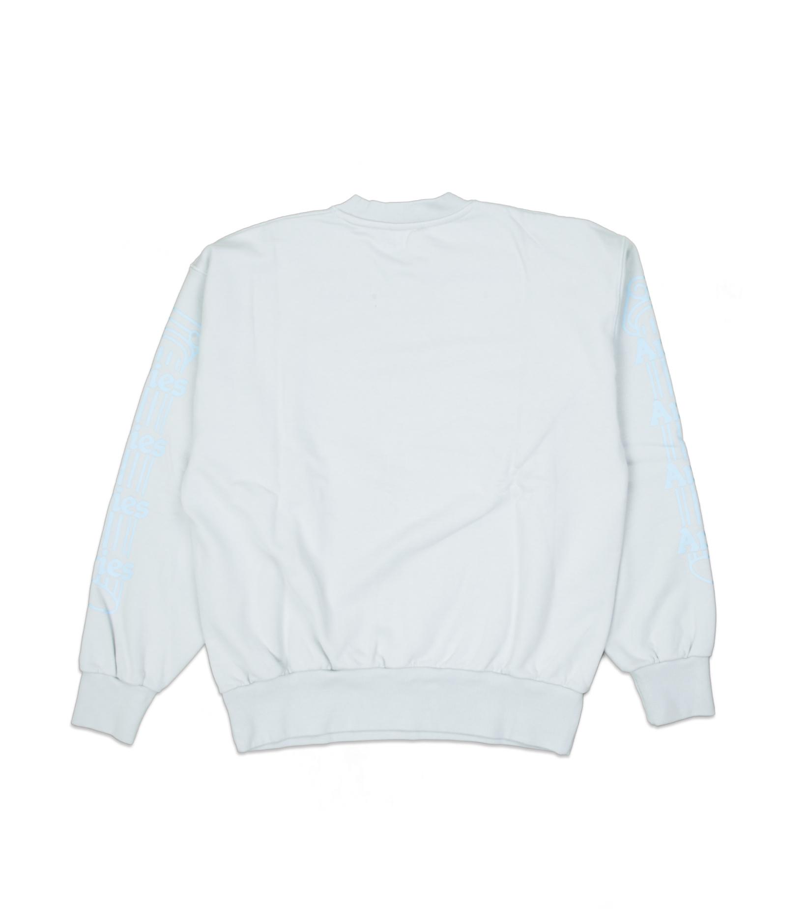 "Column Sweatshirt ""Pale Blue/Pink""-2"