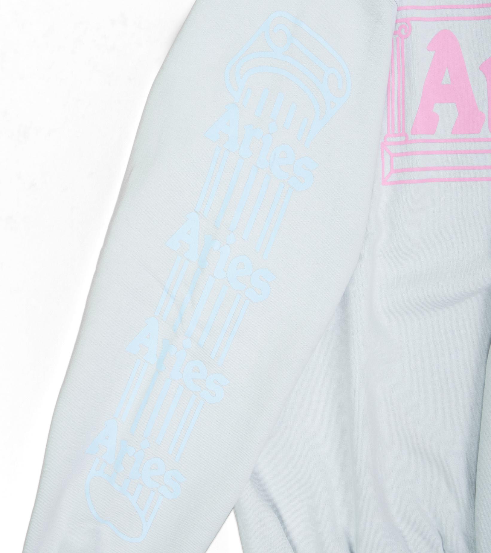 "Column Sweatshirt ""Pale Blue/Pink""-4"