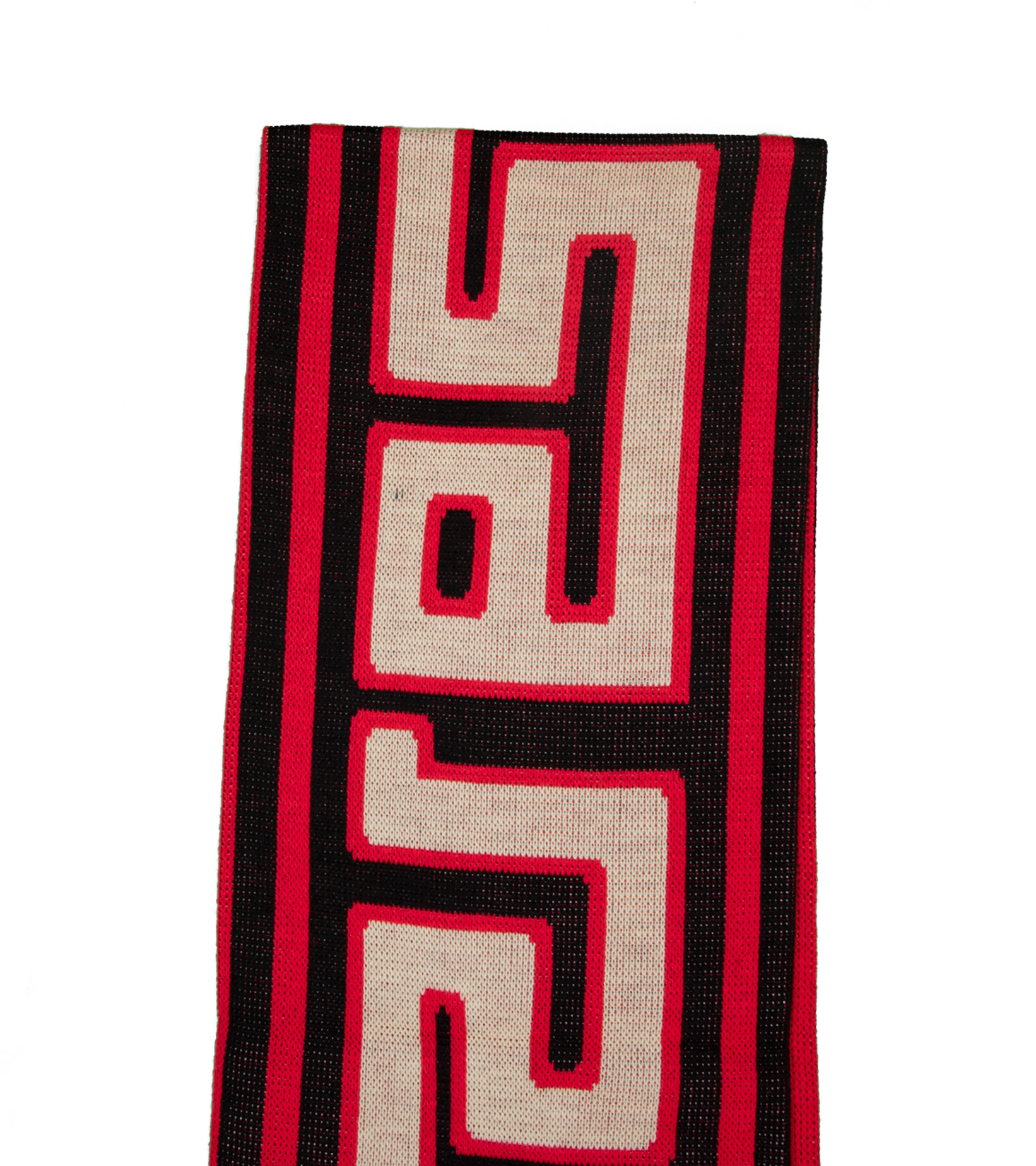 """Meandros Scarf """"Black/Red""""-3"""