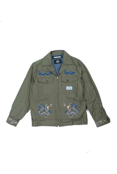 "Souvenir Jacket ""Olive Drab"""