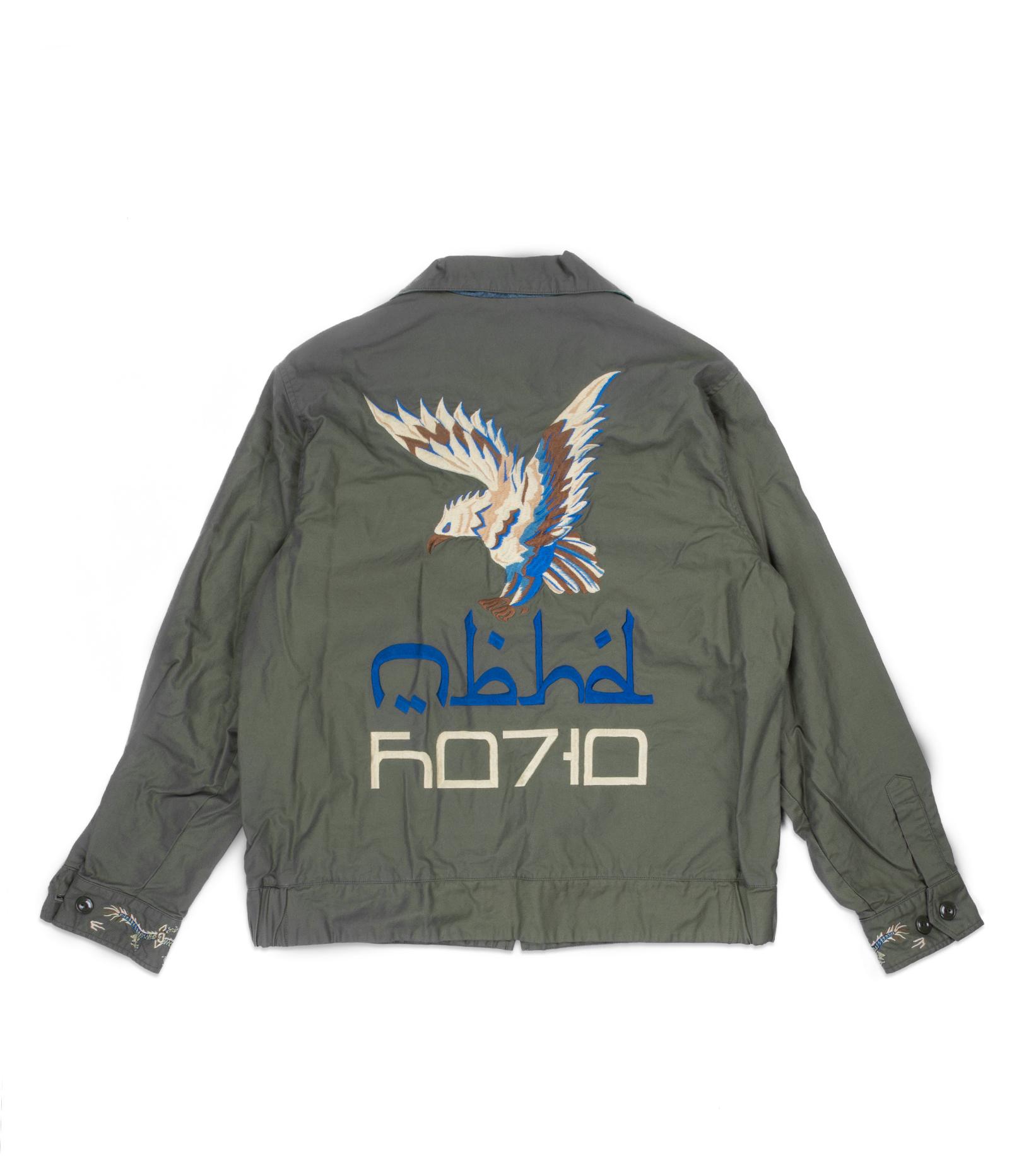 "Souvenir Jacket ""Olive Drab""-6"