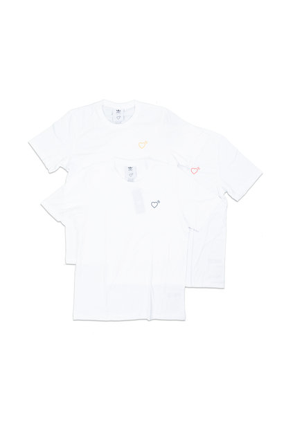 "Basic Tee x Human Made (3-Pack) ""White"""