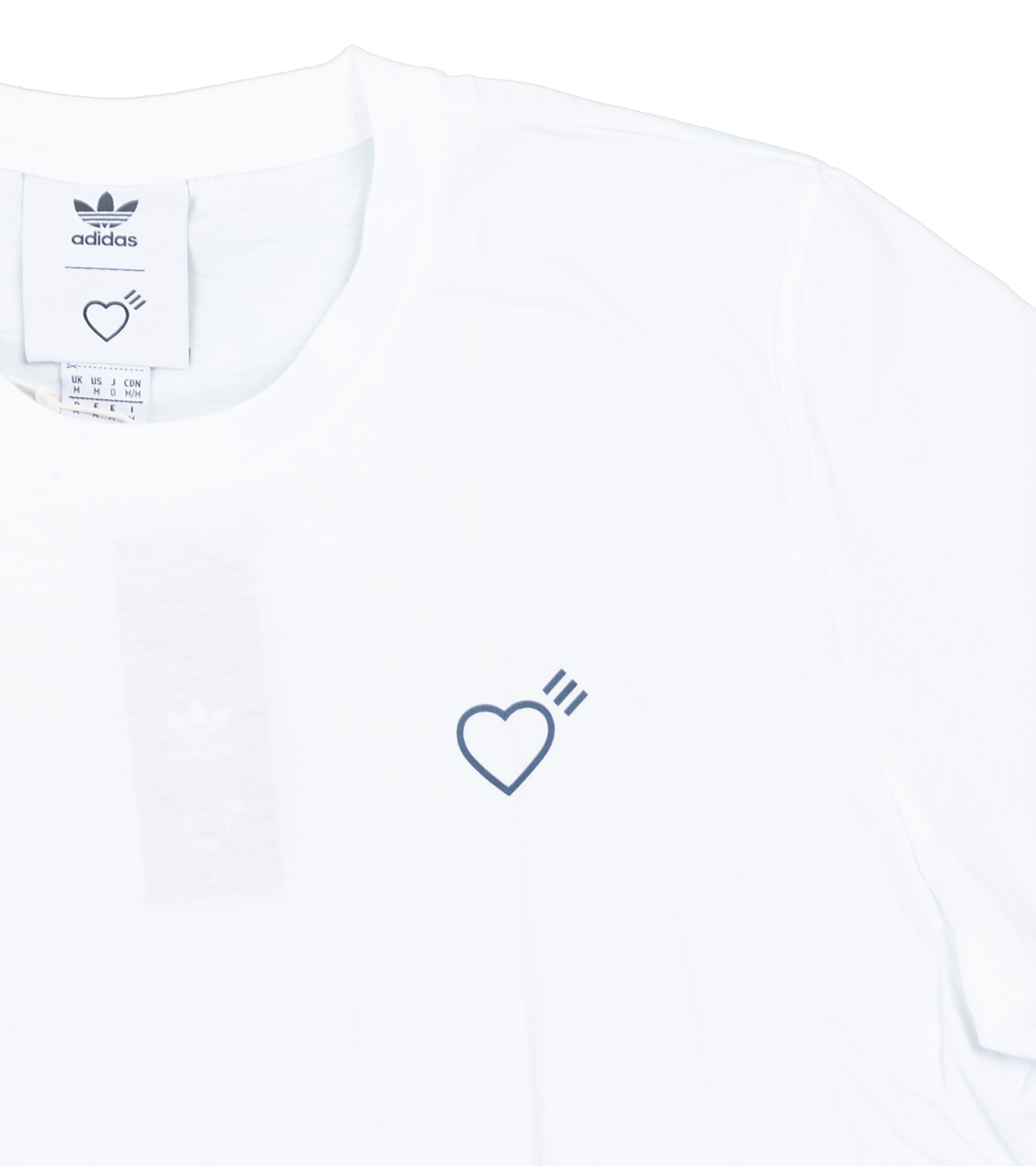 "Basic Tee x Human Made (3-Pack) ""White""-3"