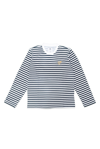 "Serrated Stripe LS Tee x Human Made ""Navy"""