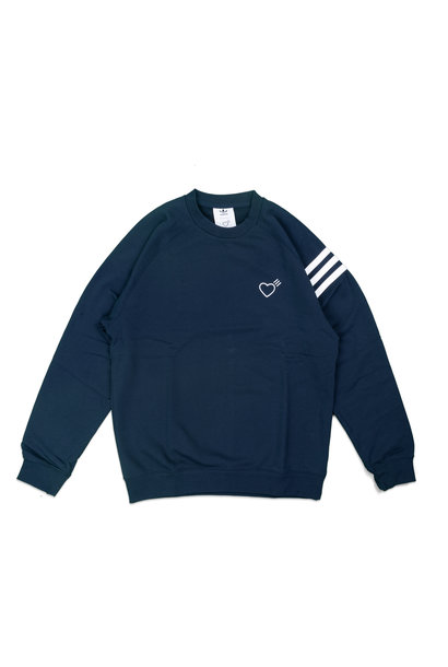 "Striped Shoulder Sweatshirt x Human Made ""Navy"""