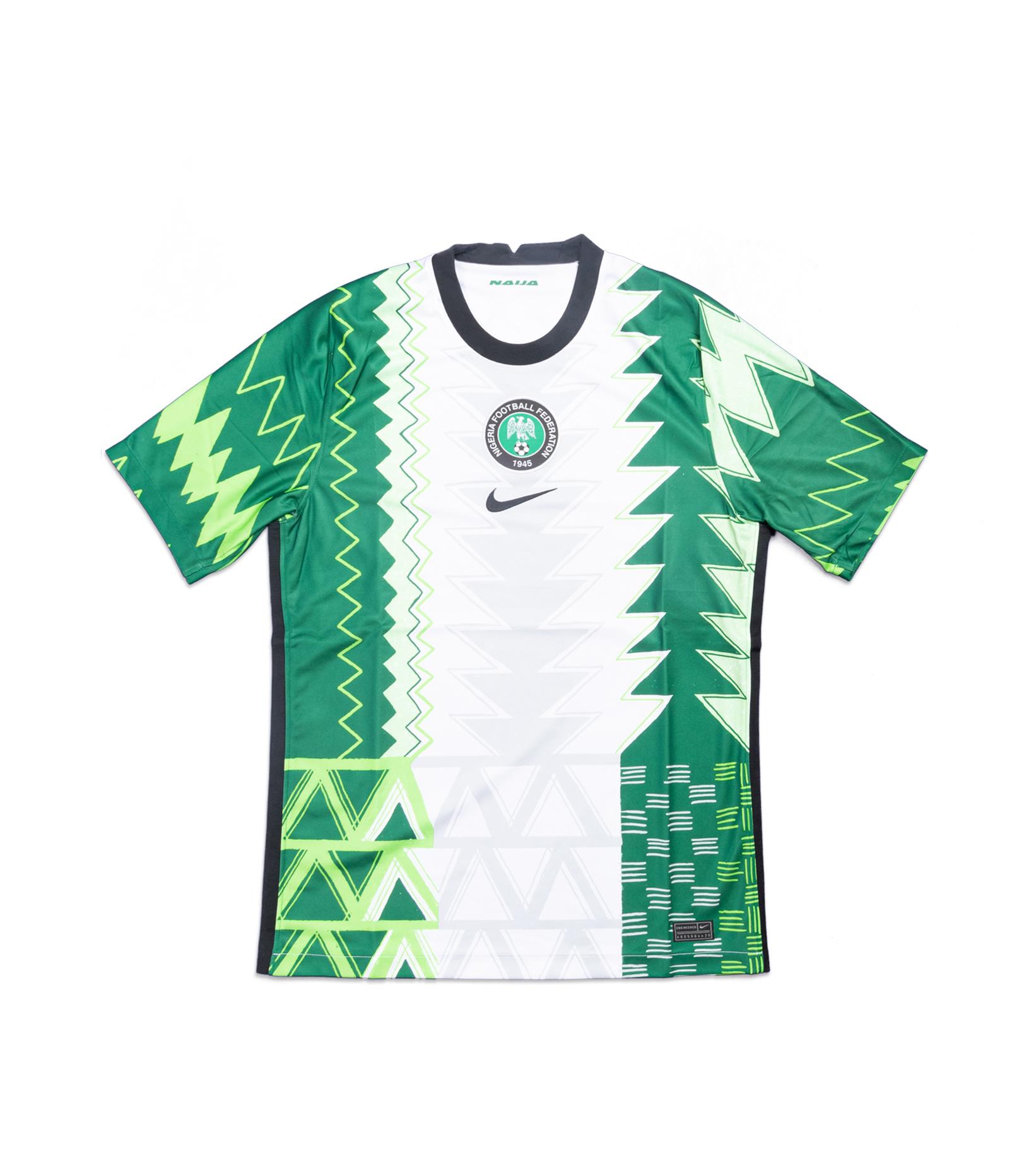 "Naija Nigeria Home Jersey '20 ""Pine Green""-1"