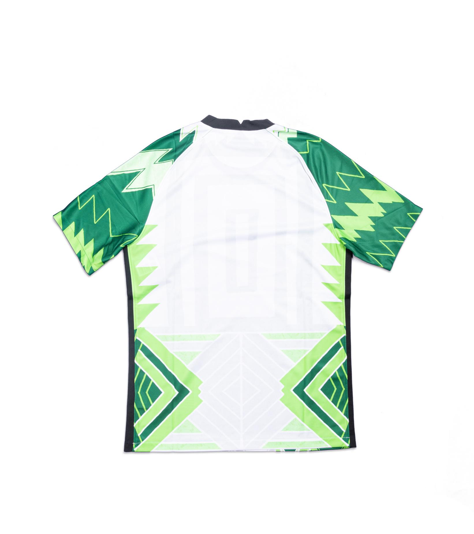 "Naija Nigeria Home Jersey '20 ""Pine Green""-2"