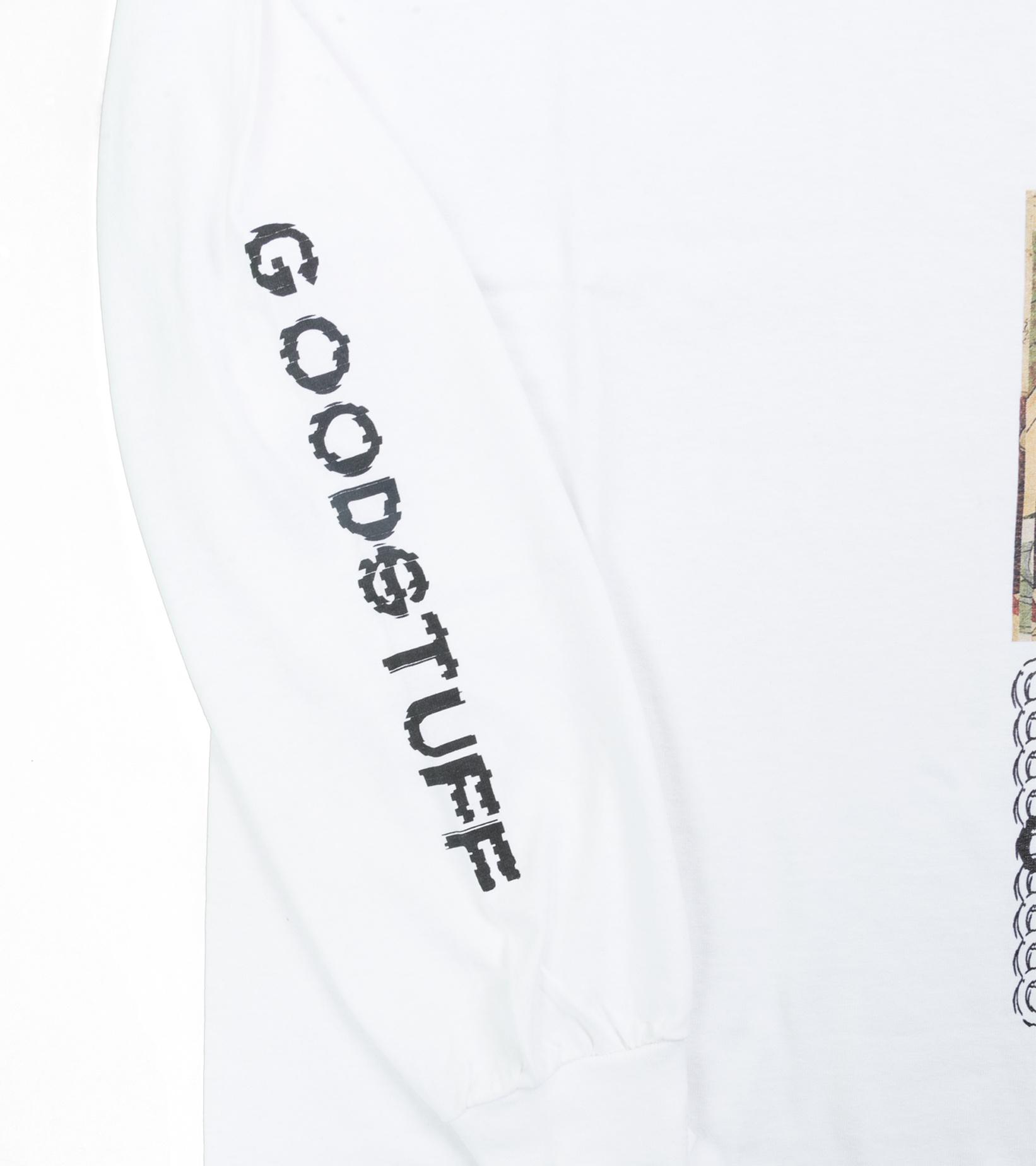 "Goodhood x Kosuke Kawamura LS Tee ""White""-3"
