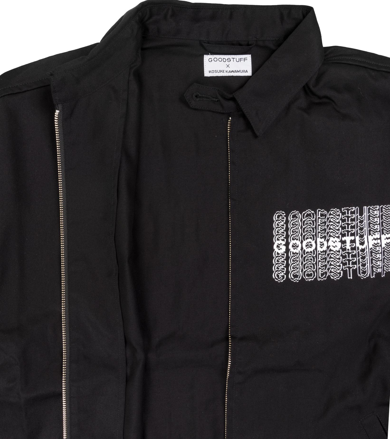 "Goodhood x Kosuke Kawamura Swing Top Jacket ""Black""-3"