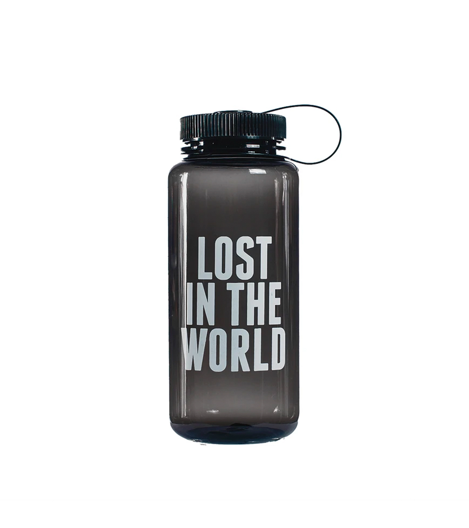 "Brick Logo Water Bottle ""Black""-1"