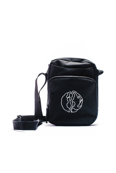 "Globe Logo Crossbody Bag ""Black"""