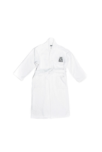 "Logo Bathrobe ""White"""