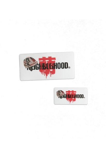 """Sticker Set x Jun Inagawa """"Clear"""""""