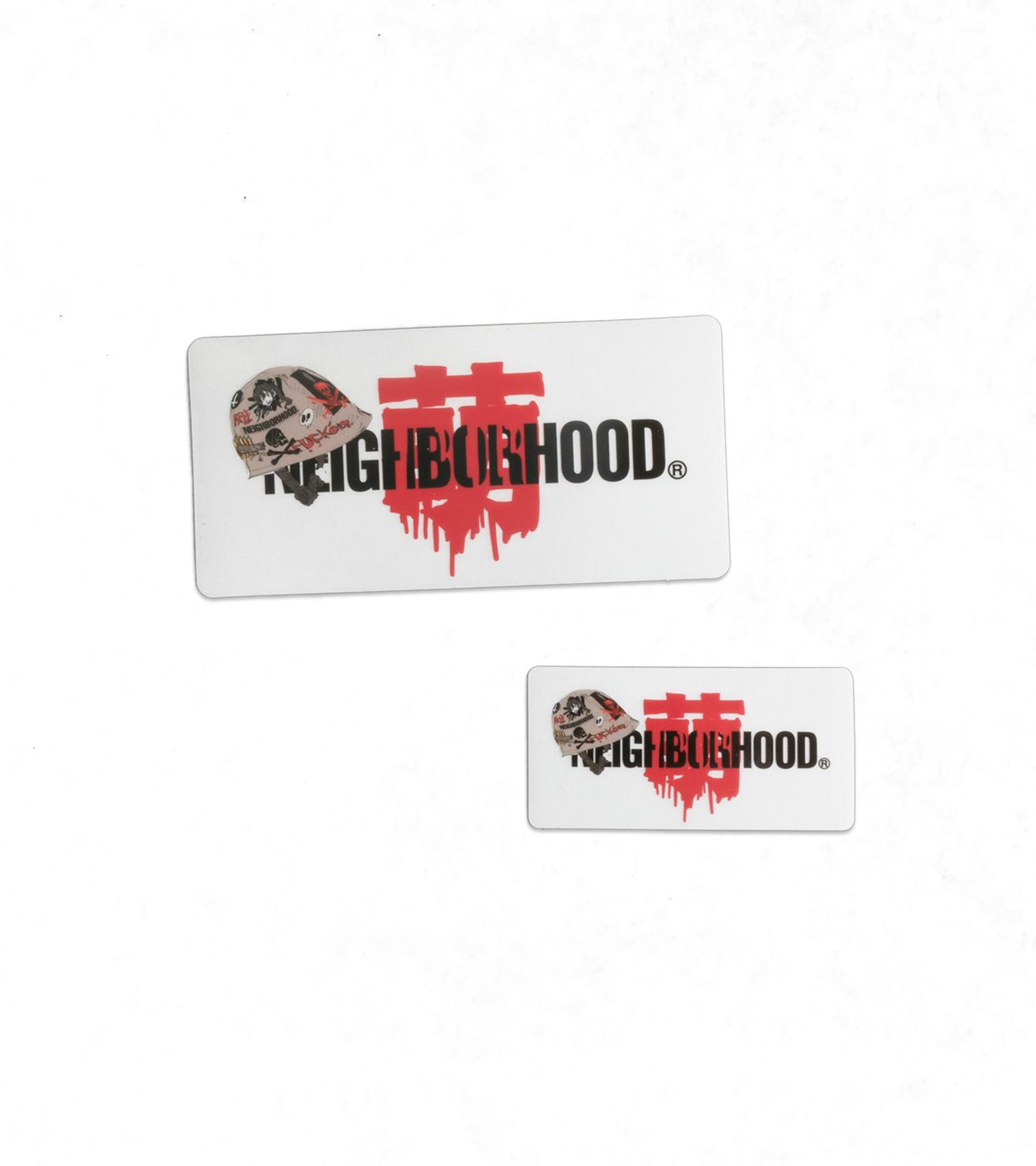 """Sticker Set x Jun Inagawa """"Clear""""-1"""