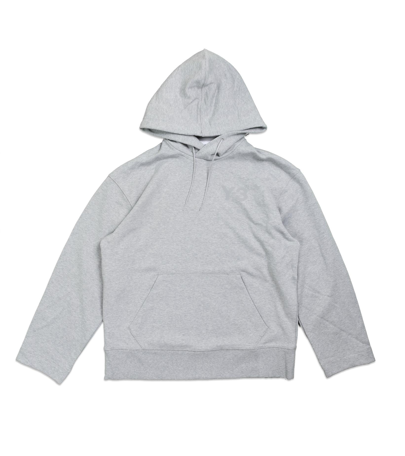 """Y-3 Classic Chest Logo Hoodie  """"Grey""""-1"""