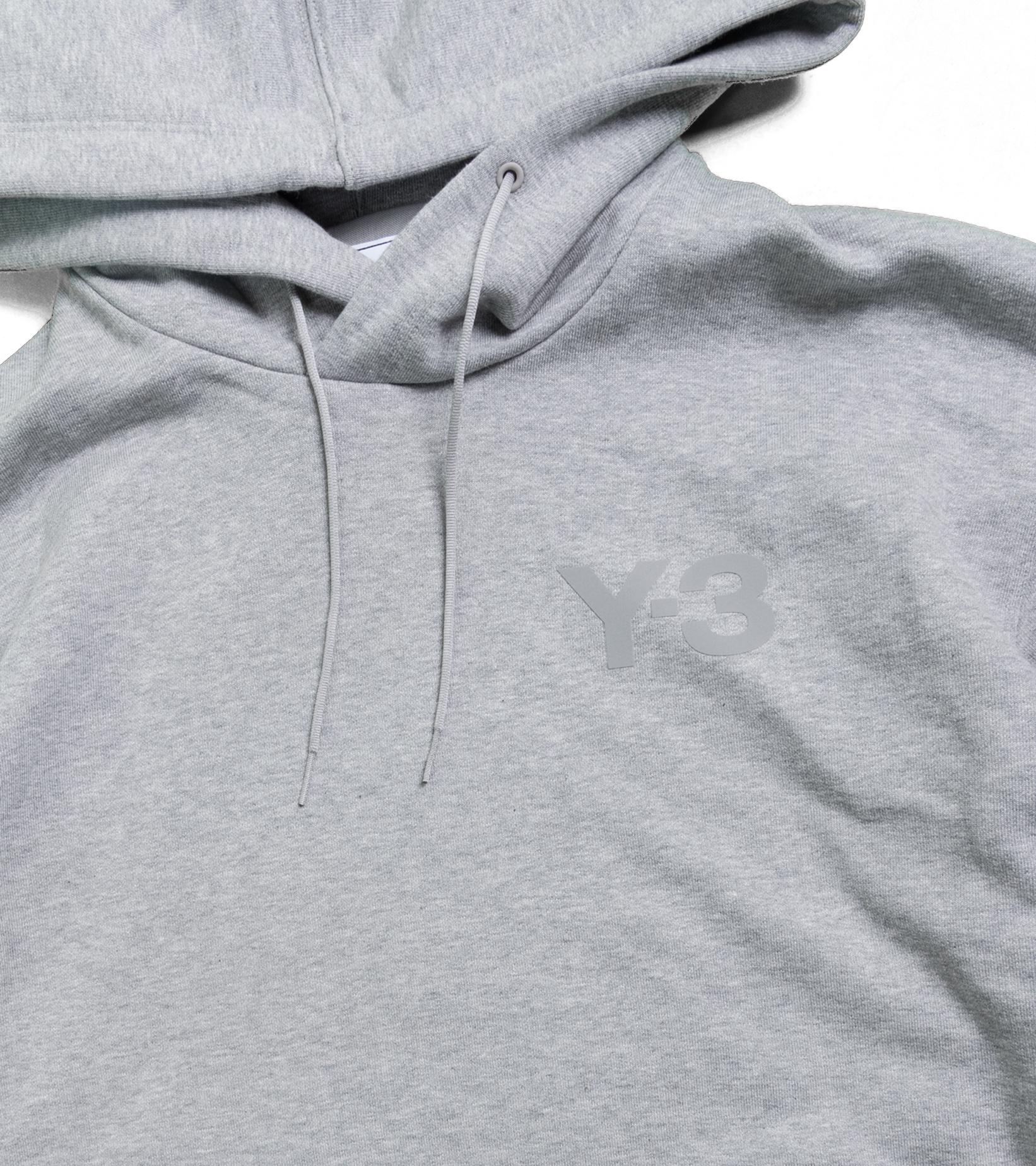 """Y-3 Classic Chest Logo Hoodie  """"Grey""""-2"""