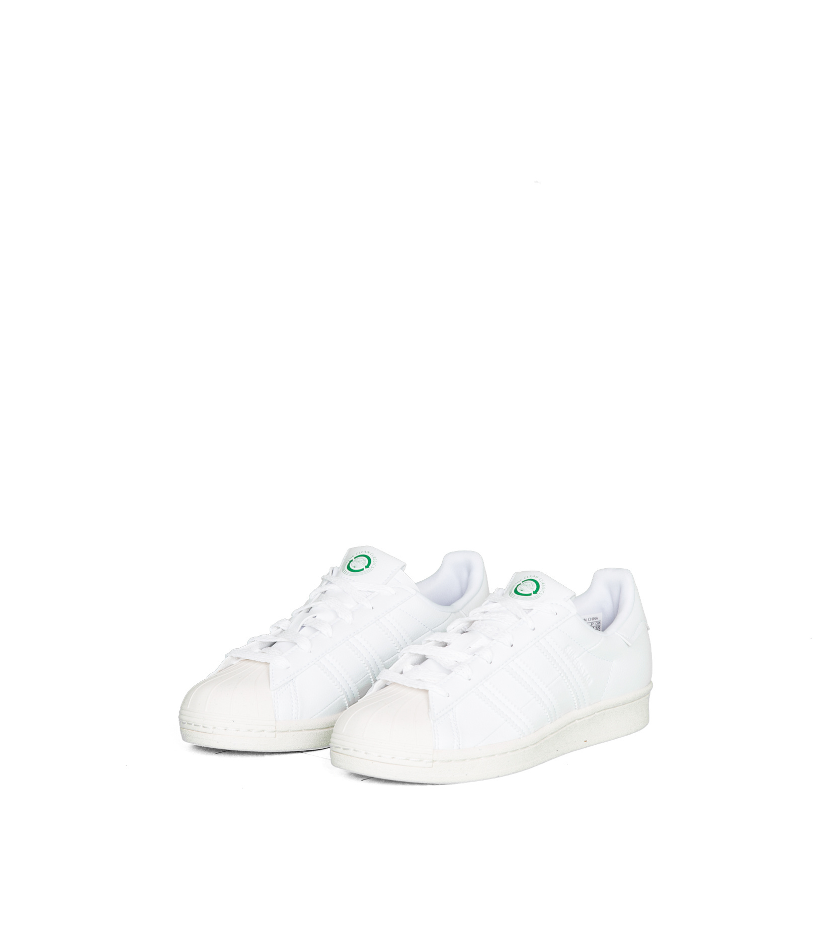 """Superstar Clean Classics """"Off White/Green""""-1"""