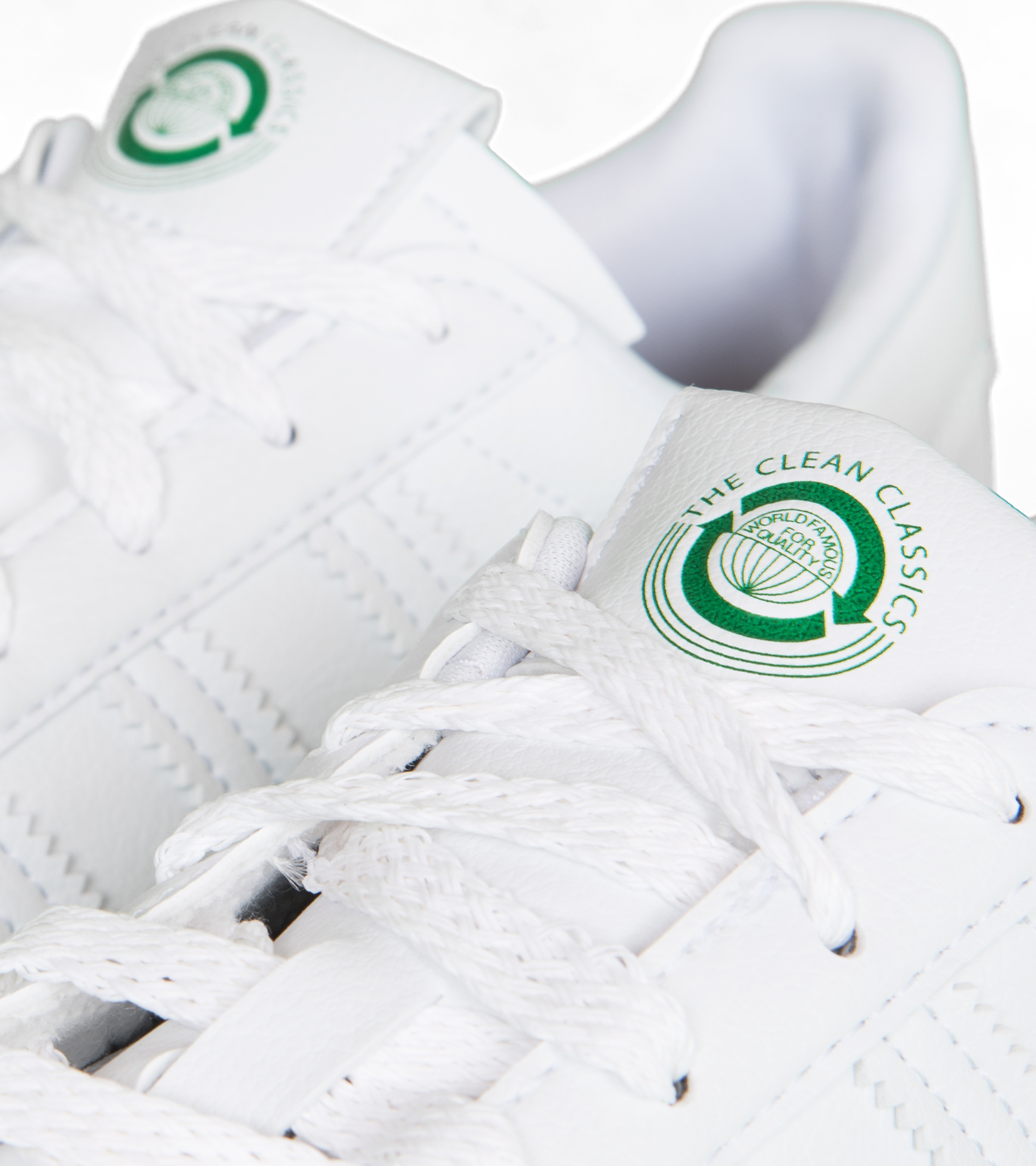 """Superstar Clean Classics """"Off White/Green""""-6"""