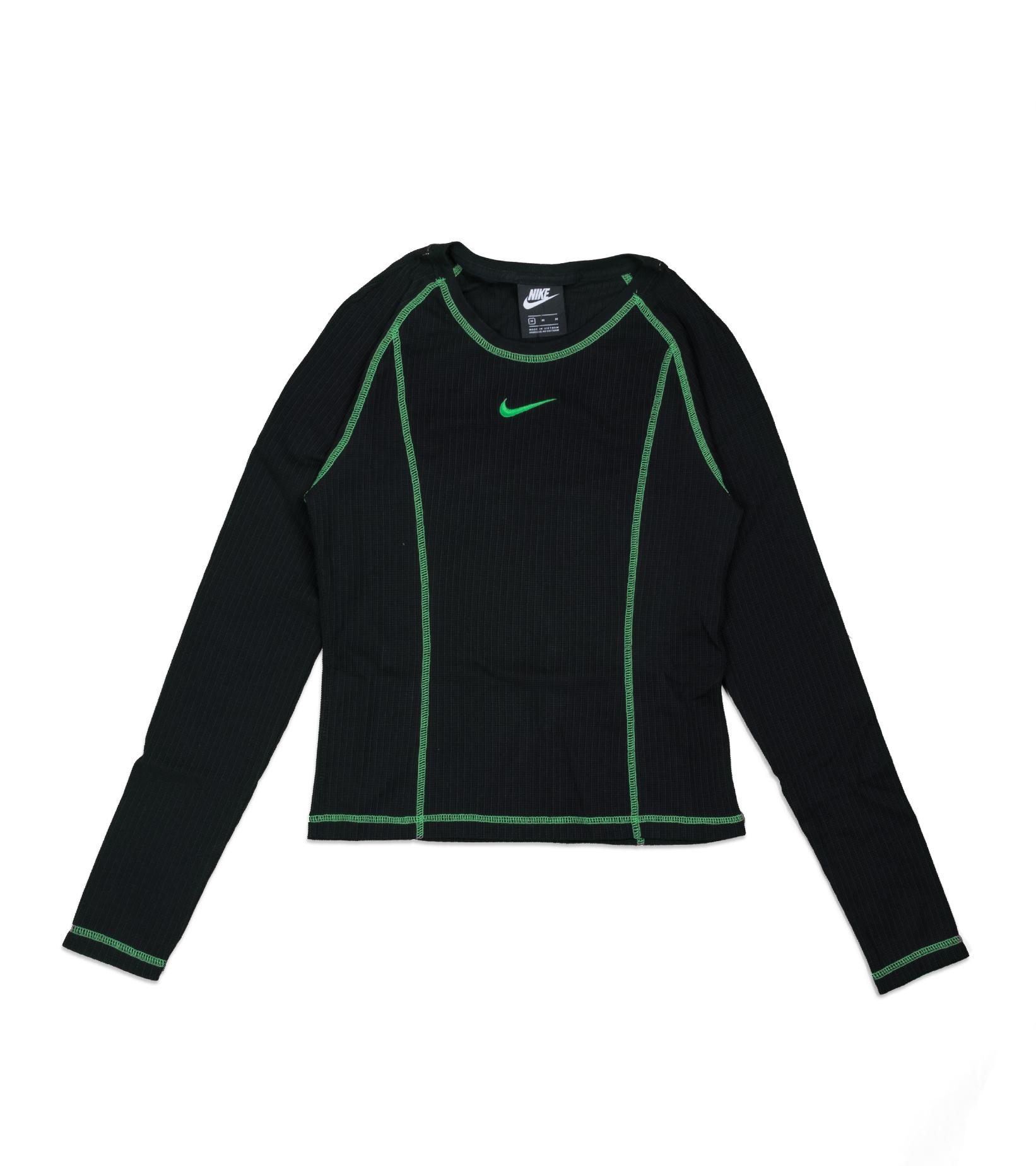 "LS Top ""Black/Poisin Green""-1"