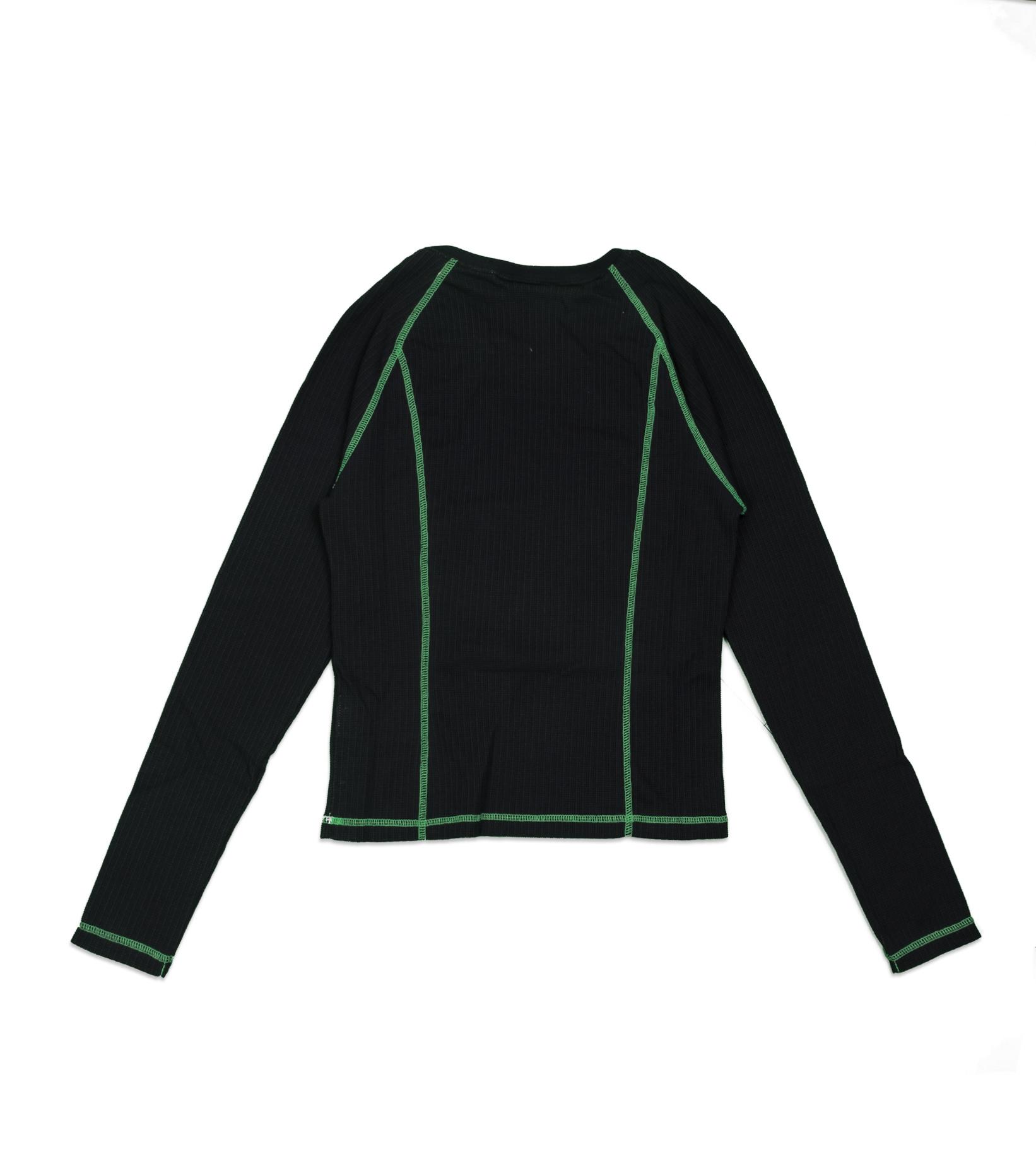 "LS Top ""Black/Poisin Green""-3"