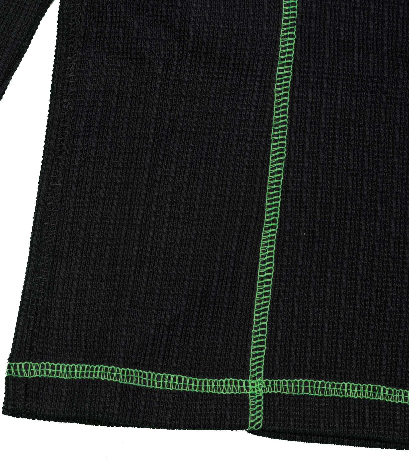 "LS Top ""Black/Poisin Green""-4"