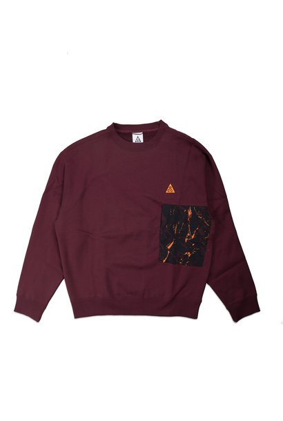"NRG ACG Sweatshirt  ""Night Maroon"""