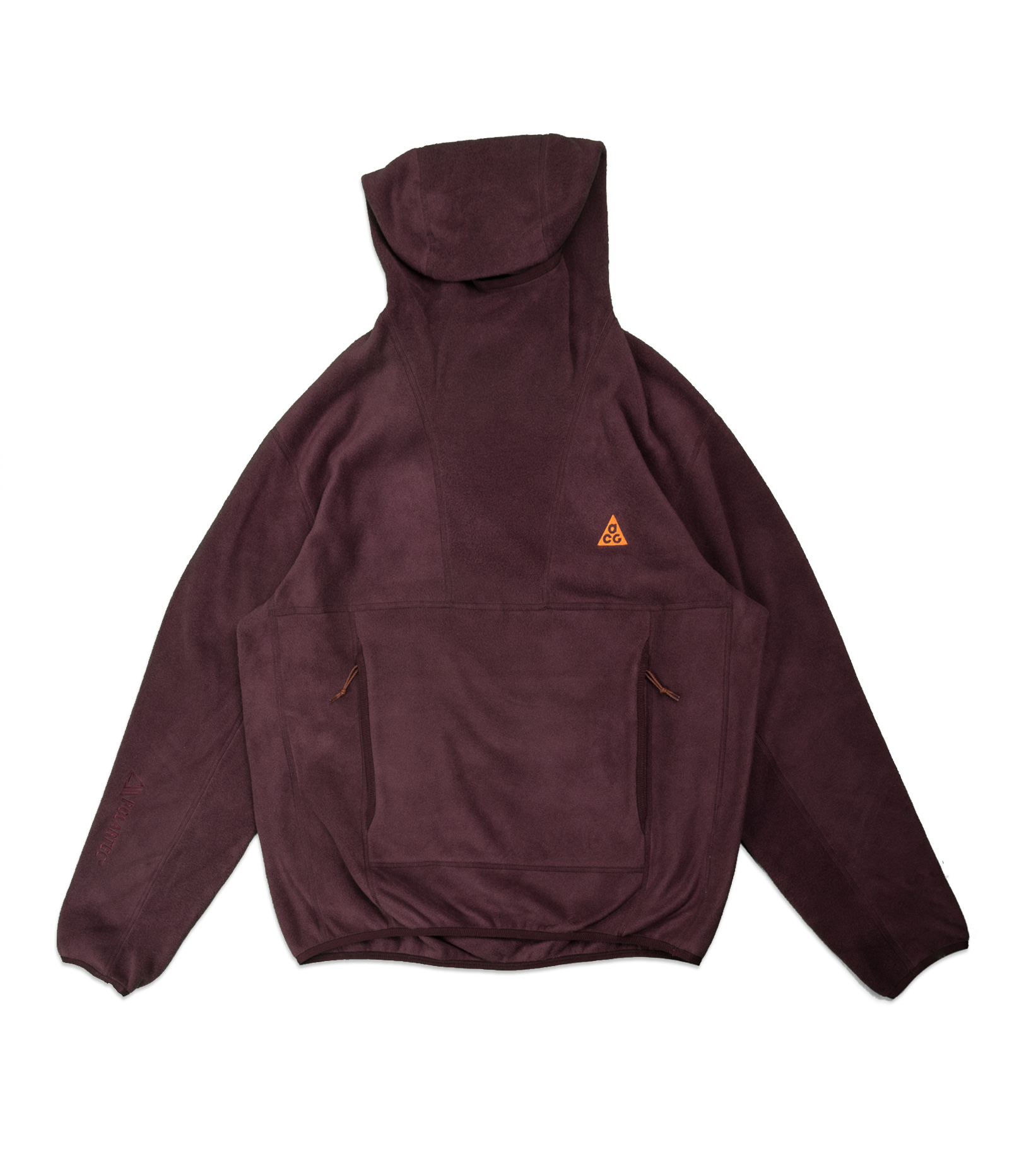 "NRG ACG Wolf Tree Hoodie ""Deep Burgundy/Orange""-1"