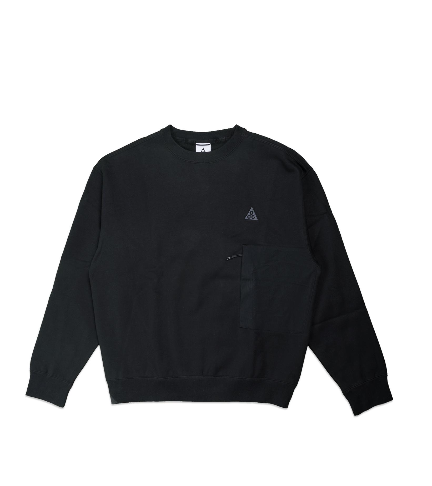 "NRG ACG Fleece Sweatshirt ""Black/Anthracite""-1"