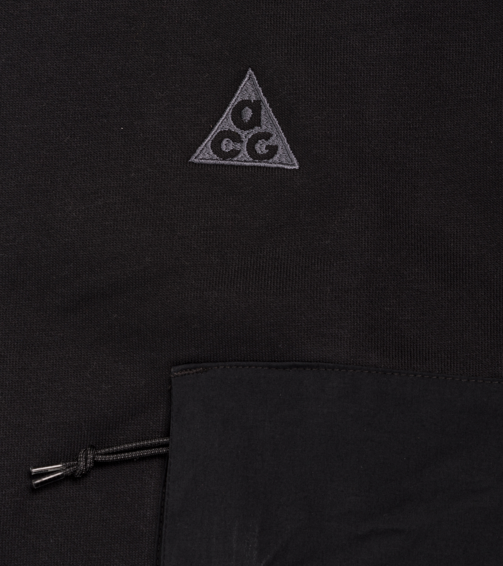 "NRG ACG Fleece Sweatshirt ""Black/Anthracite""-2"