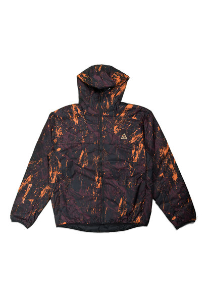 "NRG ACG Packable Insulated Jacket AOP ""Deep Burgundy"""