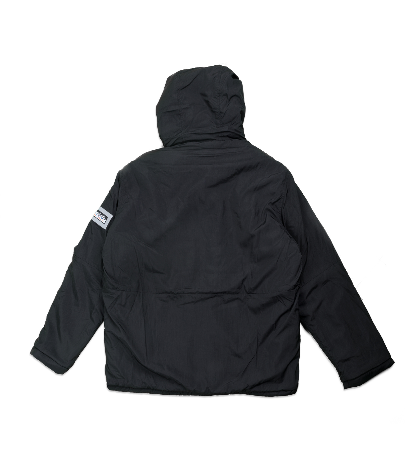 "Reversible Furry Parka ""Grey/Black""-3"