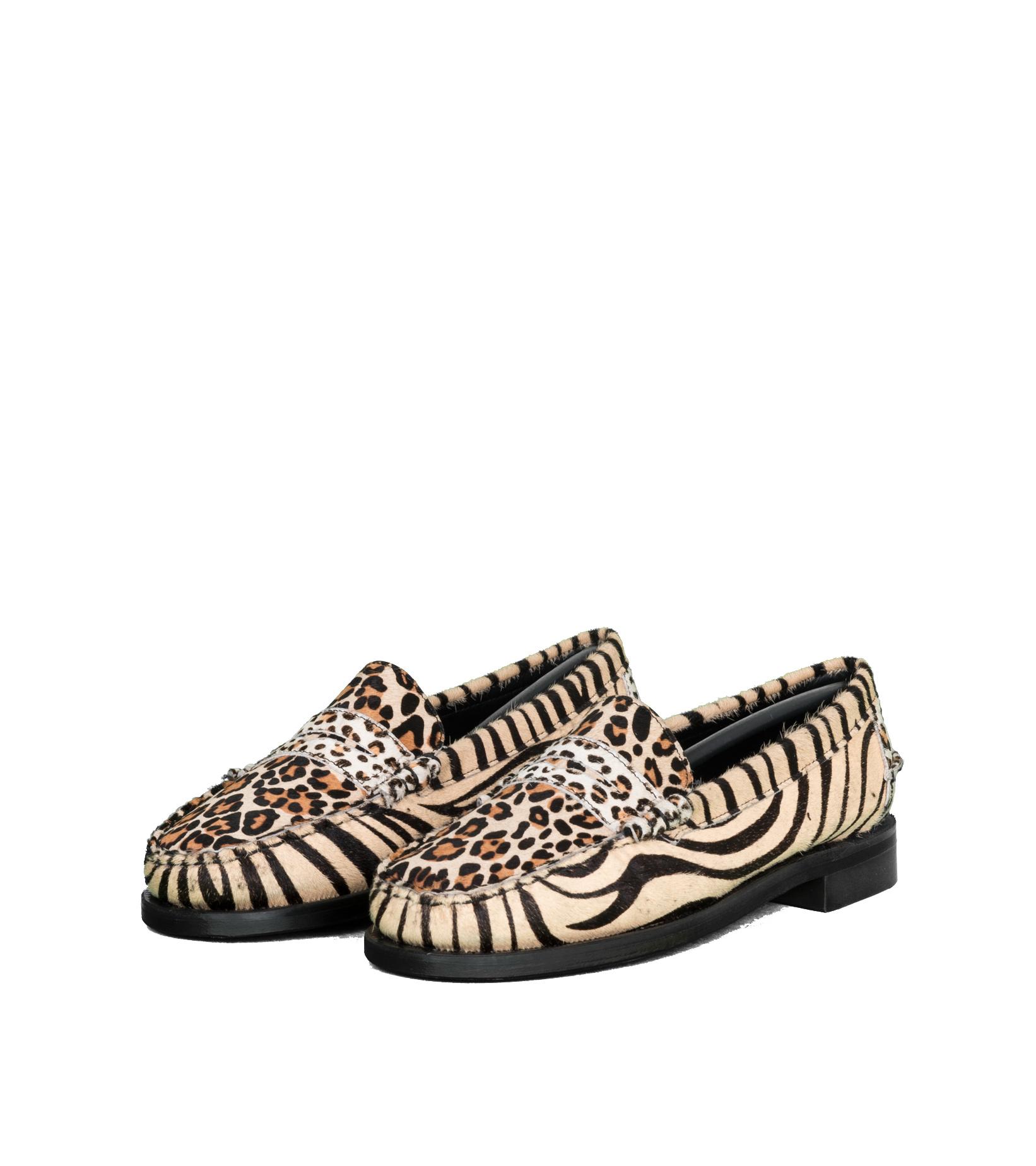 """Dan Wild Zoo Loafers """"Multi Fur""""-1"""