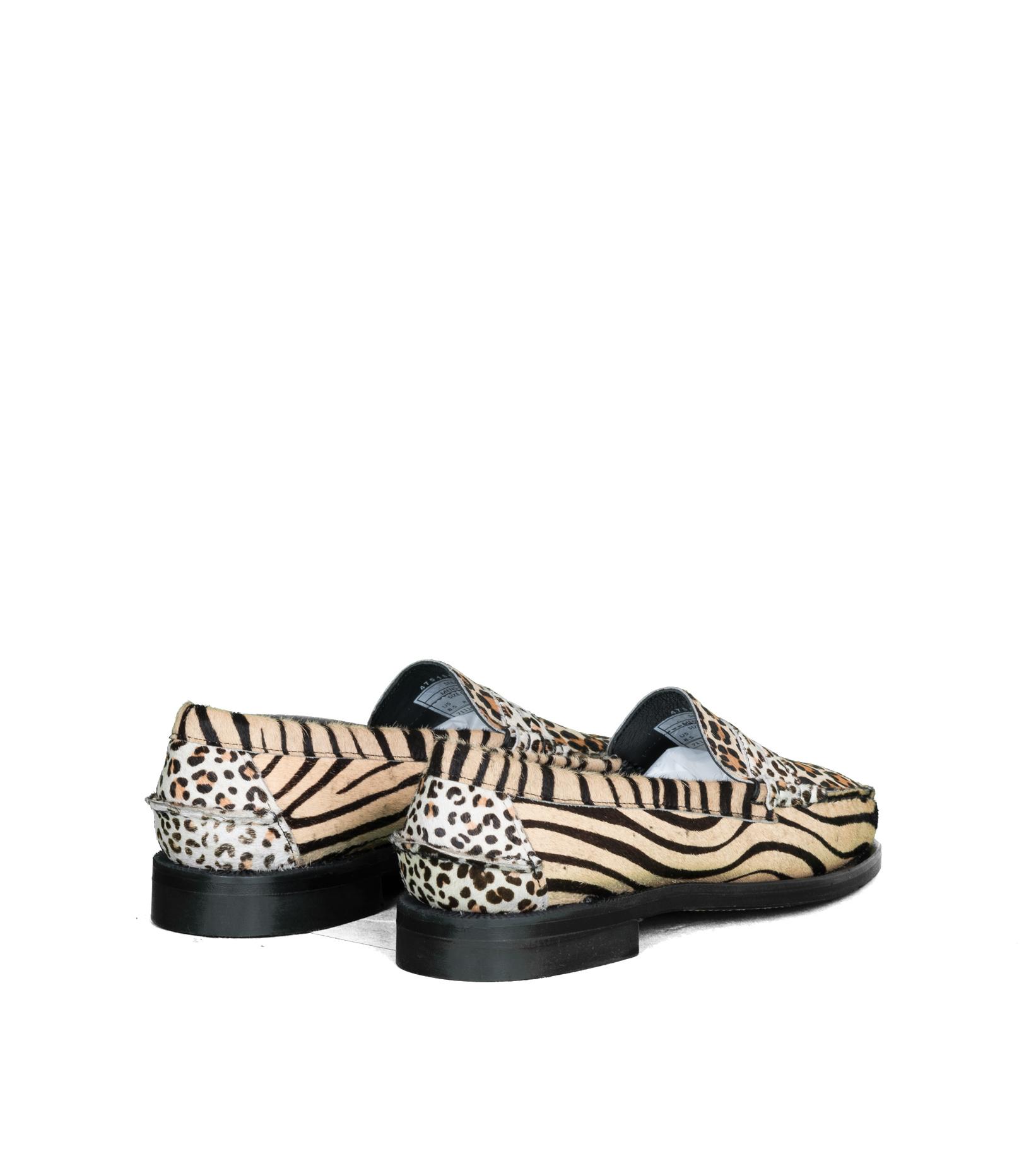 """Dan Wild Zoo Loafers """"Multi Fur""""-2"""