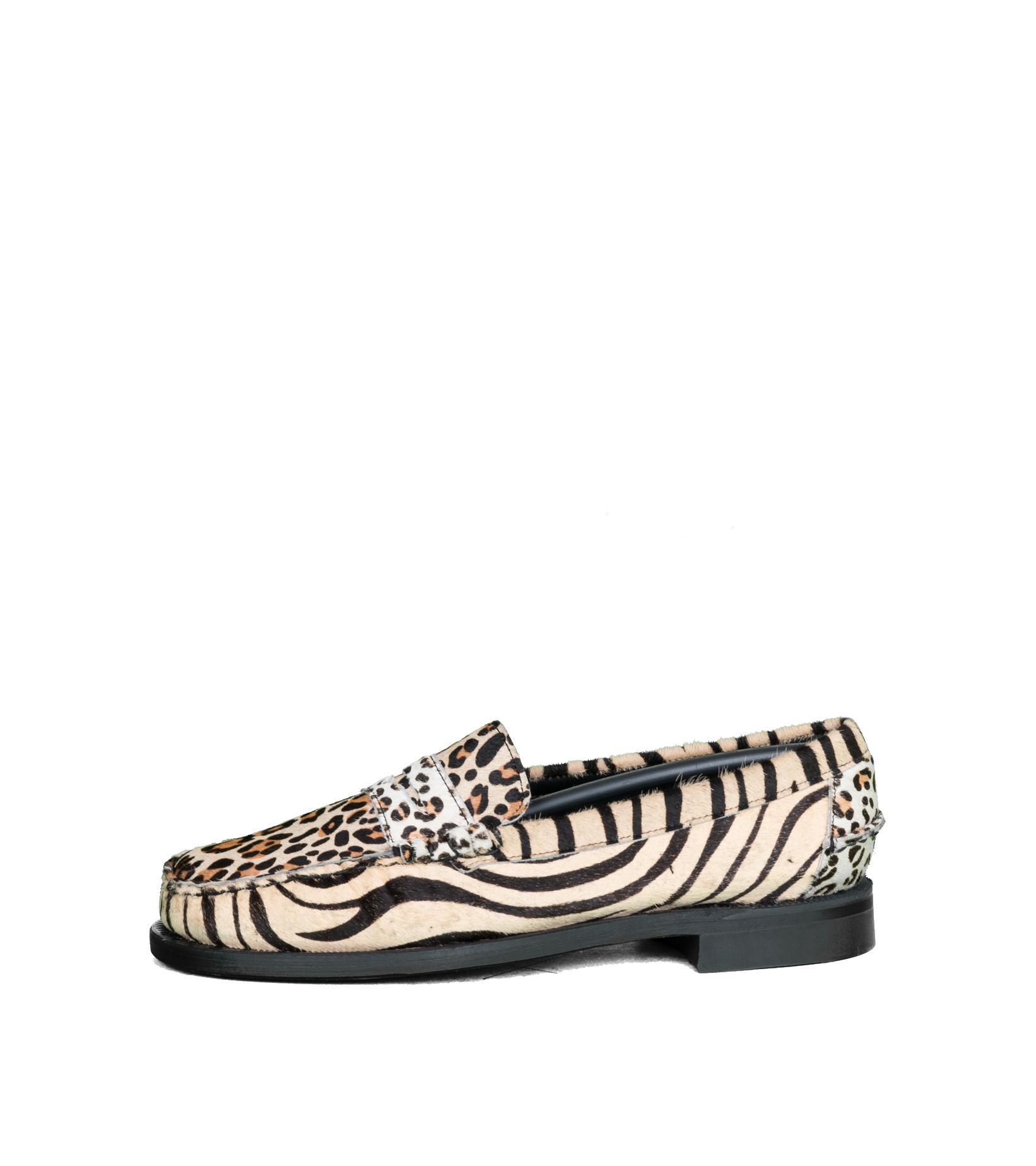 """Dan Wild Zoo Loafers """"Multi Fur""""-3"""