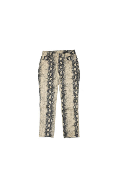 "Intercourse Snakeskin Pant ""Tan"""